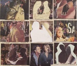 nine postage stamp collages